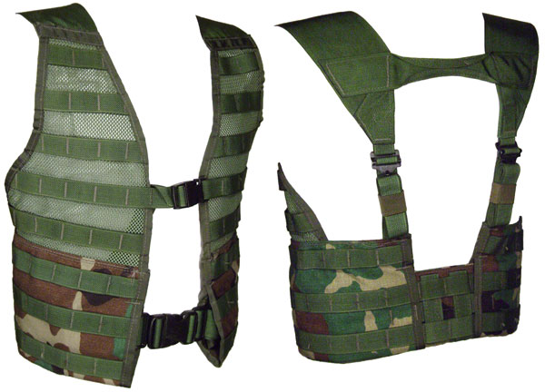 New Government Issue Woodland Fighting Load Carrie (FLC) Vest