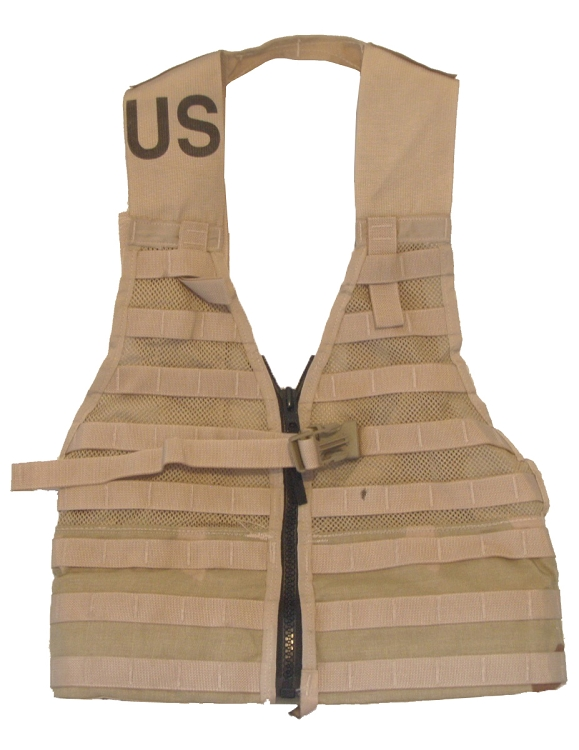 New or Used Government Issue USMC Coyote MOLLE II Fighting Load Carrier Vest