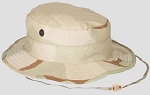 New Government Issue 6 3/4  3-Color Desert Boonie Hats