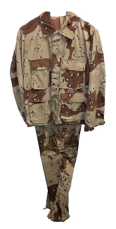 Used Medium/Regular 6-Color BDU Set