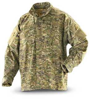 X-Camo ACU Style Rip-Stop Shirts