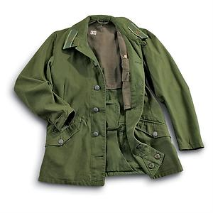 Used Swedish Mountain OD Field Jacket