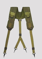 New Governemnt Issue Olive Drab LC-2 Suspenders