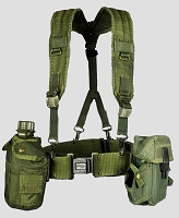 Used US Government Issue Canteen Kit w/ Suspenders