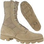 Used Government Issue Desert Hot and Cold Weather Boots