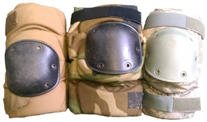 Used Government Issue Knee Pads