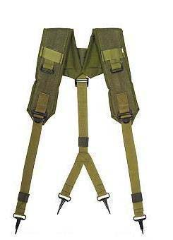 Used Governemnt Issue Olive Drab LC-2 Suspenders