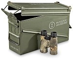 Government Issued 40mm Metal Ammo Box