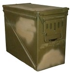 Used U.S. G.I. M592 30MM Ammo Can