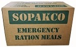 SOPAKCO MRE Emergency Ration Meals  (14 meals per case)