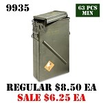 Surplus U.S. Military PA156 81mm Mortar Ammo Can