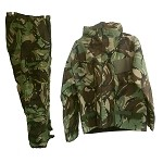 New Medium U.K. DPM Camo Chemical Suit