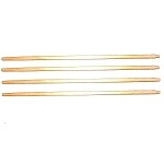 New! Wooden Insect/Mosquito Net Poles (Set of 4) US Government Issue