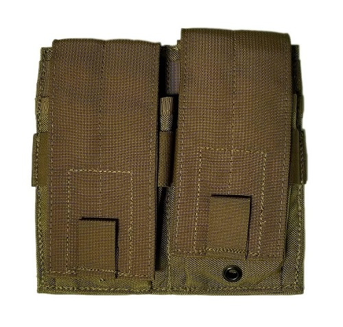 New Coyote MOLLE II Double/Double Mag Pouch