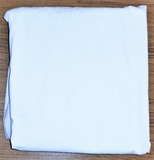 New White Queen Size Fitted Sheet