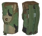 Used Government Issue Woodland M16A2 MOLLE Double 30-Round Ammo Pouch