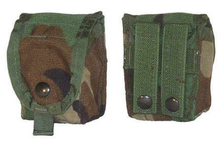 New or Used Woodland MOLLE Grenade Pouch