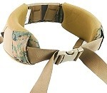 Used Government Issue MARPAT Hip Belt, Mans, Spare, Component of Improved Load Bearing Equipment (ILBE) Field Pack
