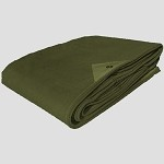 New MOC Olive Drab Heavy Duty Canvas Tarp