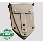 Used Government Issue Rubber Shovel Cover w/ keepers