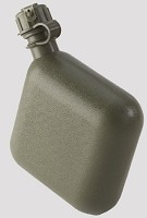 New or Used Government Issue 2 Quart Olive Drab Canteen- NBC Cap Available