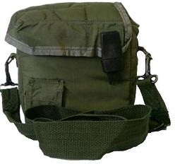 2 Quart Olive Drab Canteen Cover! Genuine U.S. Military Issue! (Canteen Not Included)