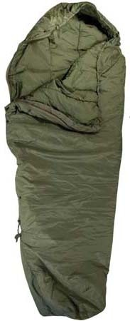 Used Government Issue Olive Drab Nylon Patrol Modular Sleeping Bag