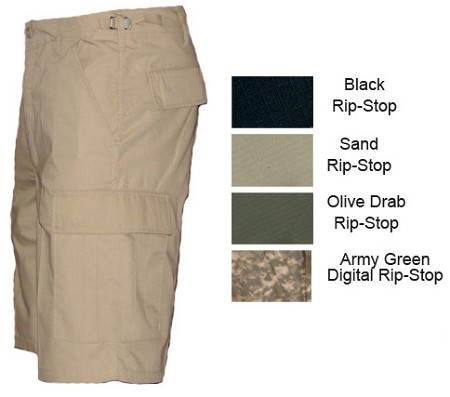 "New MOC Rip-Stop 11"" BDU Shorts"