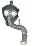 New Russian Youth Gas Mask w/ Bag and New Swiss Filter
