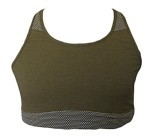 New X-Large Coyote New Balance Sports Bra