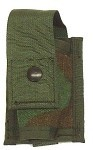 Used Government Issue Woodland 40MM MOLLE Single High Explosive Pouch
