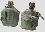 New & Used Government Issue 1 Quart O.D. Canteen Cover