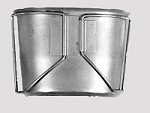 New or Used US Government Issue Canteen Cup W/ Wire (Butterfly) Handles