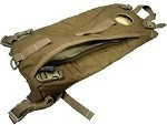Used USMC Coyote Hydration Carrier with New 3L Import Bladder